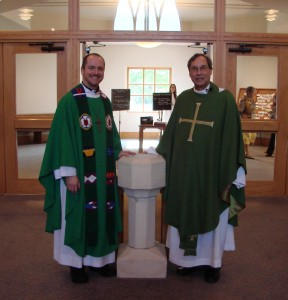 Pr. Brian Robison & Fr. Dale Coleman | St. Mark Lutheran Church Belleville Illinois