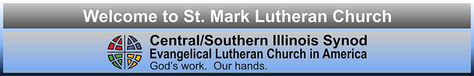 Welcome to St Mark Lutheran Church